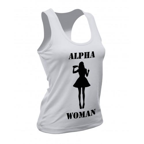 Canotta Alpha Woman Bianca