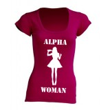 T-Shirt Alpha Woman Raspberry Limited Edition