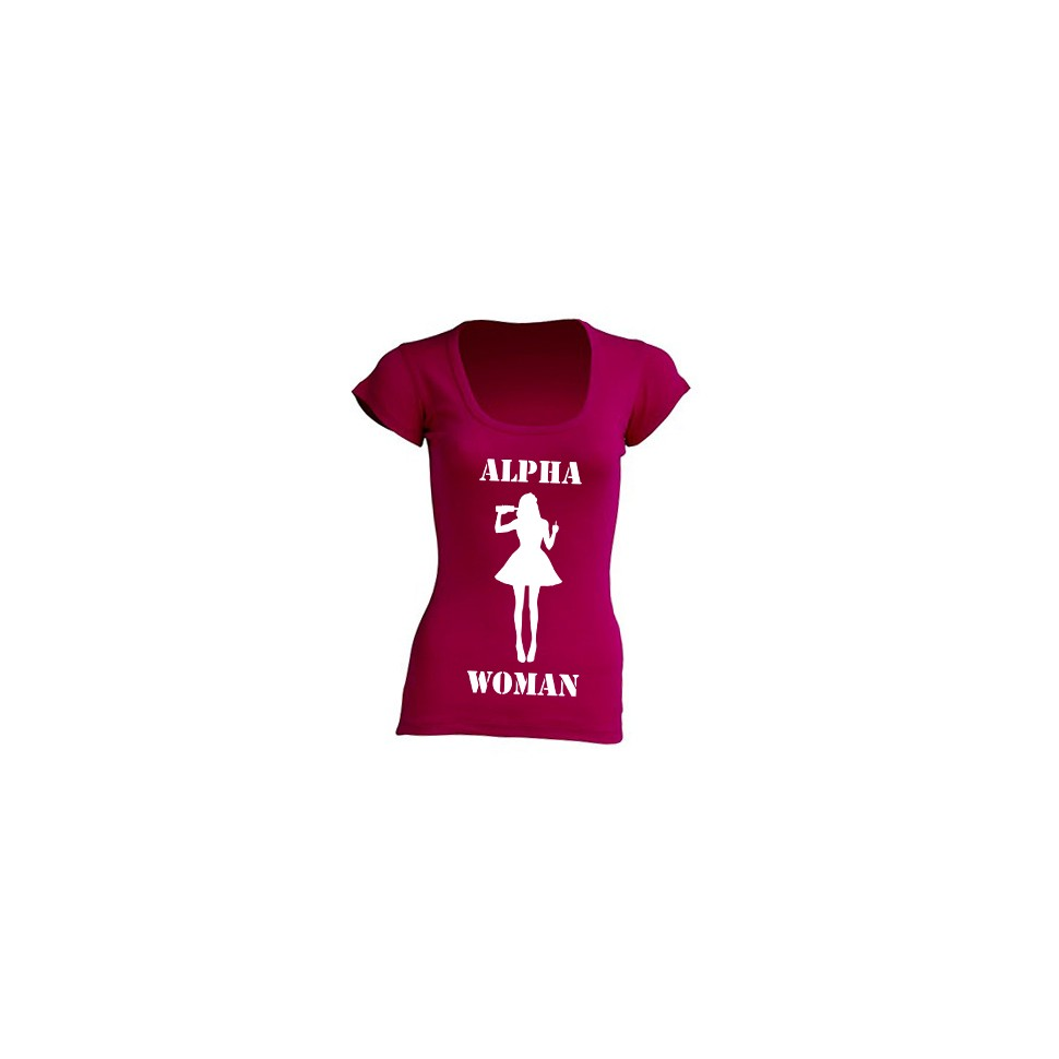 T-Shirt Alpha Woman Raspberry Limited Edition